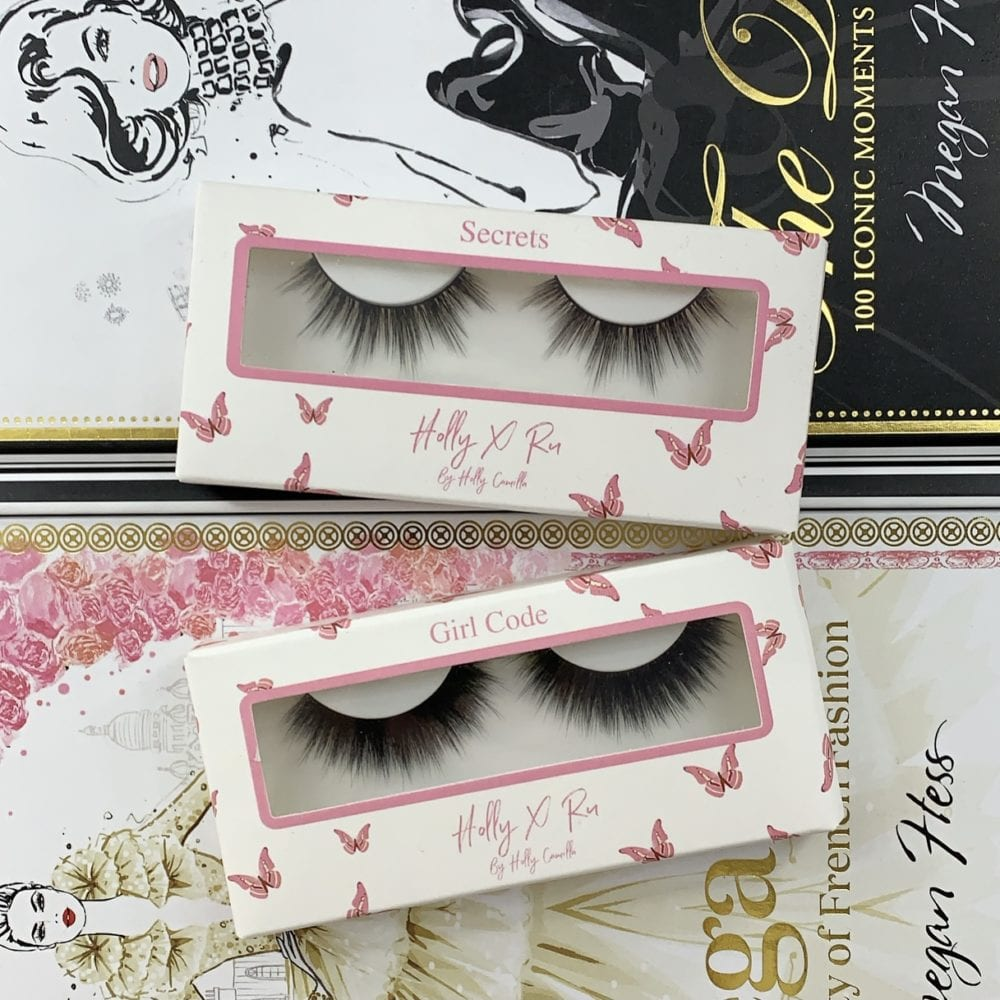 Girl Codes and Secrets Eyelashes Set